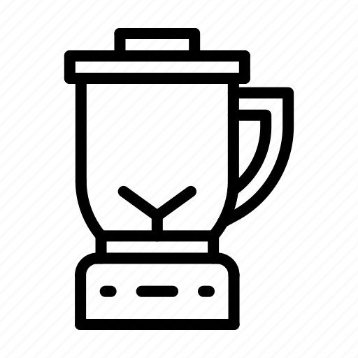 blender, juicer, kitchen icon