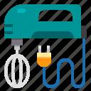 appliance, cooking, kitchen, mixer, utensil icon