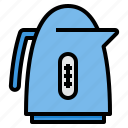 cooking, equipment, food, household, kettle, kitchen icon