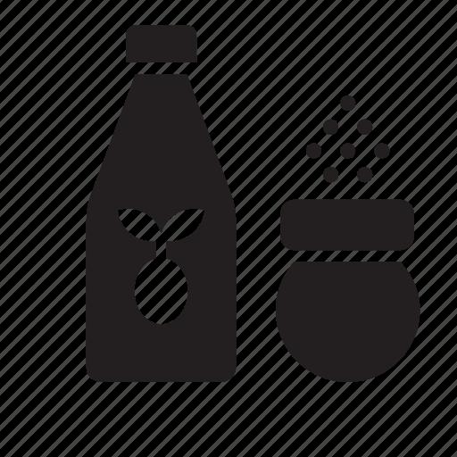 kitchen, oil, pepper, salt, shaker icon