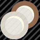 cutlery, kitchen, plates icon