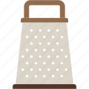 grater, kitchen icon