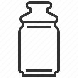 bottle, cooking, equipment, flask, kitchen, tool icon