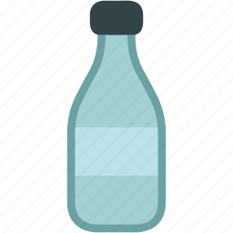 bottle, drink, empty, milk icon