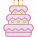 cake, celebration, dessert, food, party, sweet