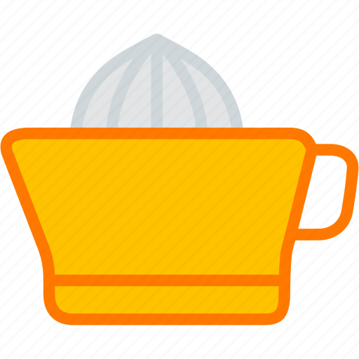 appliances, citrus, fruit, juice, juicer, orange icon