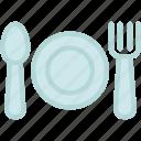 cutlery, breakfast, dinner, food, fork, kitchen, knife