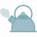 hot, kettle, kitchen, tea, teapot icon