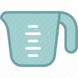 cup, jug, measuring, scale icon