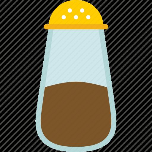 food, jar, kitchen, salt, saltshaker, sodium icon