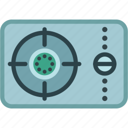 fuel, gas, oven, portable, power, stove icon