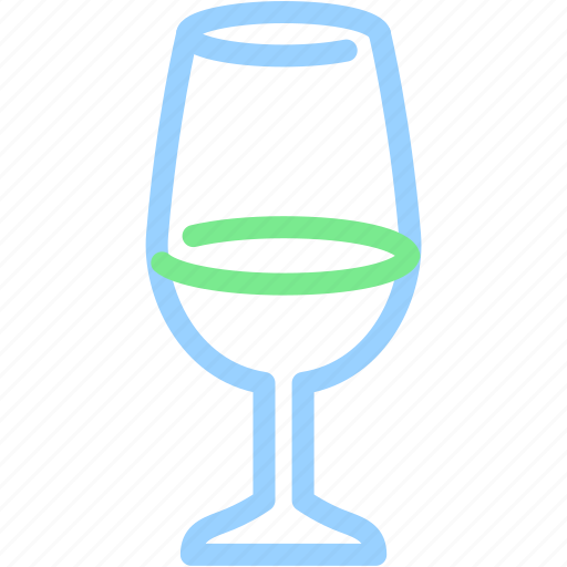 alcohol, beverage, champagne, drink, water, wine icon
