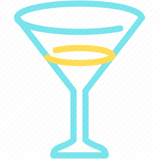 alcohol, beverage, cocktail, drink, glass, party icon