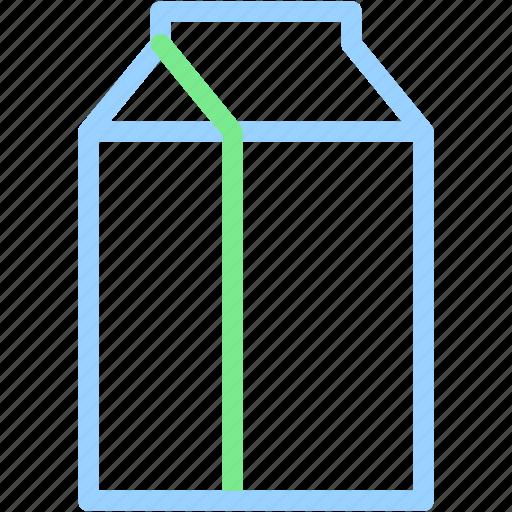 beverage, drink, milk icon