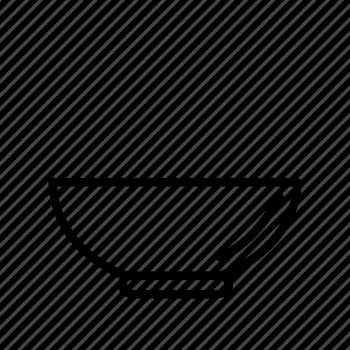 bowl, cook, kitchen, pot, restaurant, utensil icon
