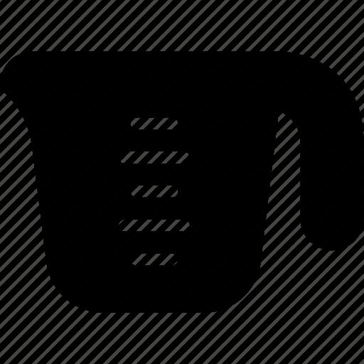 cup, jug, measuring, scale icon