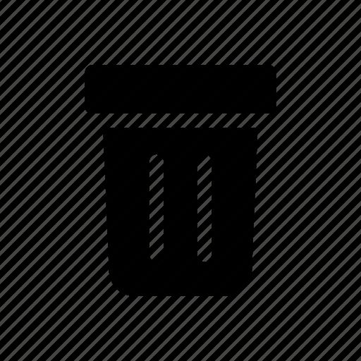 bin, cuisine, kitchen, kitchenware, trash icon