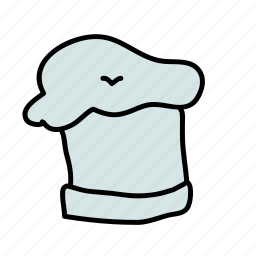 chef, drinks, hat, kitchen, uniform icon