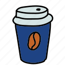 coffee, drinks, hot, papercup
