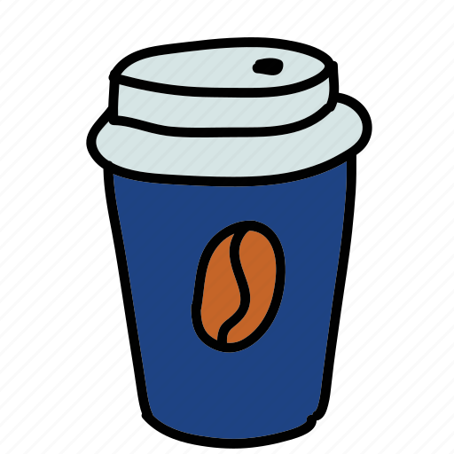 coffee, drinks, hot, papercup icon
