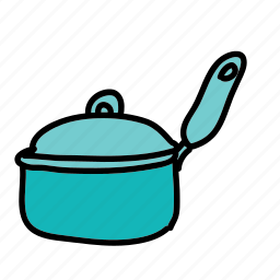 cooking, equipment, kitchen, pot icon