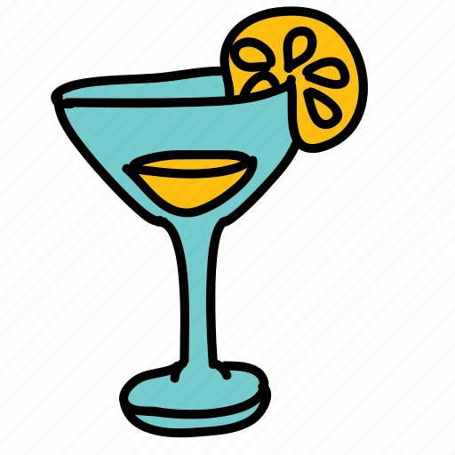 cool, drink, drinks, lemon icon