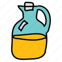 drinks, glass, jug, juice icon