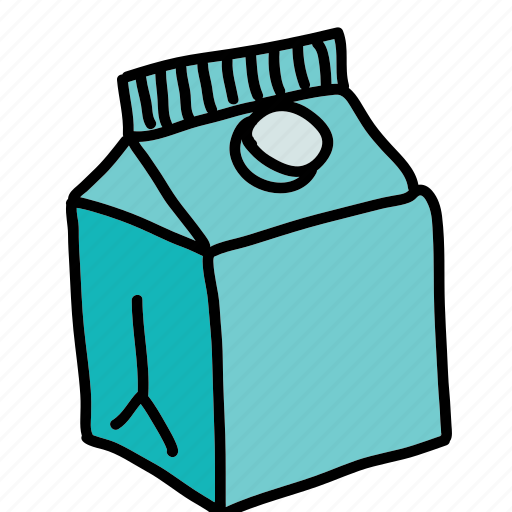 carton, drinks, juice, milk icon