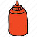 food, ingredient, ketchup, kitchen icon