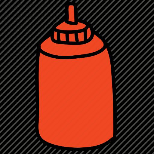 food, ingredient, ketchup, kitchen icon