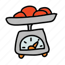 equipment, food, kitchen, scale icon