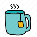 drink, drinks, hot, tea icon