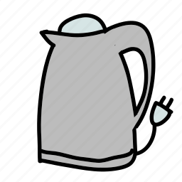 boiler, equipment, kettle, kitchen, water icon