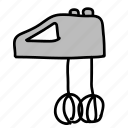 equipment, kitchen, mixer icon