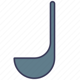 cooking, cutlery, kitchen, kitchen spoon, restaurant, soup ladle, spoon icon
