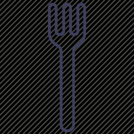 cooking, cutlery, fork, gastronomy, kitchen, restaurant, utensil icon