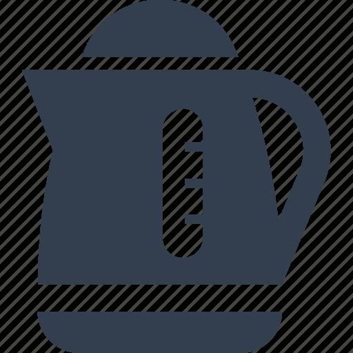 appliances, boil, electrec, electric, kettle, kitchen, tea icon