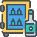 alcohol, drink, glass, water, wine icon