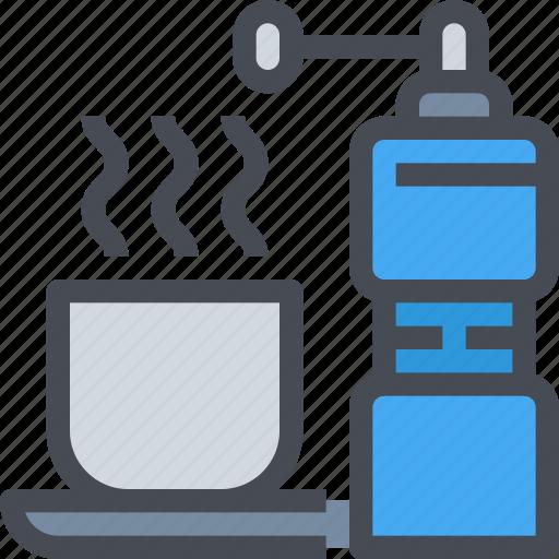 cafe, coffee, equipment, grinder, kitchen icon