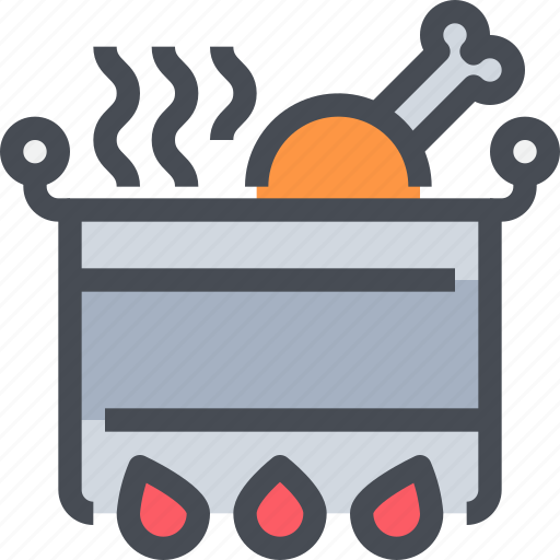 appliance, cooking, equipment, kitchen, pot icon