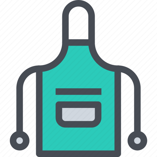 appliance, apron, chef uniform, equipment, kitchen icon