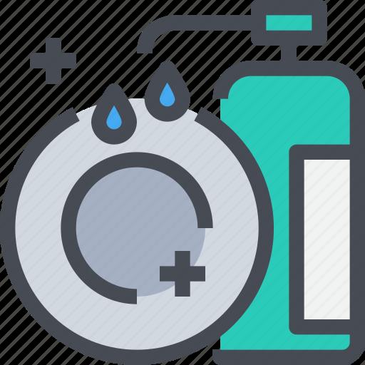 appliance, dishes, equipment, kitchen, wash icon