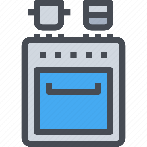 appliance, cooking, equipment, kitchen, stove icon