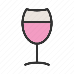 alcohol, beverage, celebration, drink, glass, wine, wineglass icon
