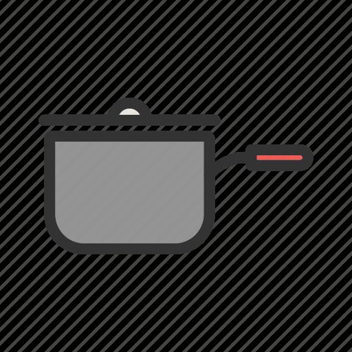 Food, onion, pan, sauce, saucepan, spoon, tomato icon - Download on Iconfinder