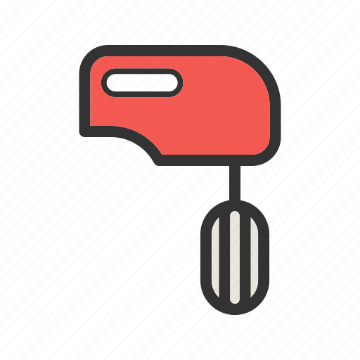 beater, cooking, house, kitchen, mixer, preparation, stir icon