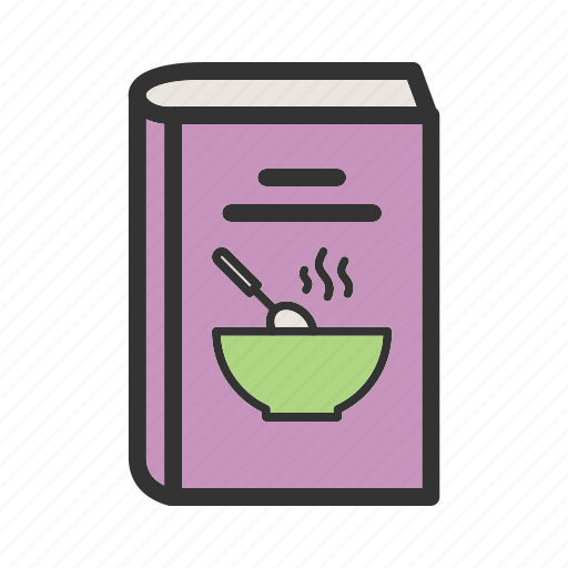 book, cook, cookbook, cooking, kitchen, recipe icon
