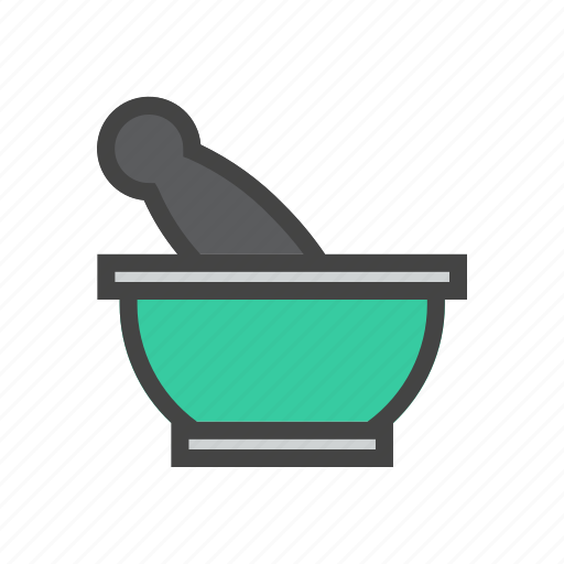 chef, cook, food, kitchen, pounder icon
