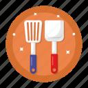 slotted turner, spatula, kitchen, equipments, utensils, appliance