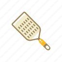 cooking, cuisine, food, grater, kitchen, metal icon